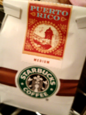 スターバックスのコーヒー豆:プエルトリコ