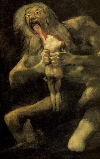 El laberinto del fauno/Ο Λαβύρινθος Του Πάνα! Goya-Saturn-Eating-Cronus