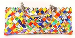 Candy Wrapper Hand Bags
