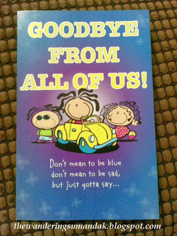 funny goodbye card to co worker | just b.CAUSE