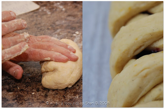 Kneading Dough &amp; Braided Danish Pastry