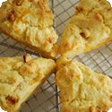Apple Cheddar Scones