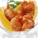 Beignets de Langoustines or Crevettes (Langoustine or Shrimp Fritters)