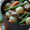 Navarin d'Agneau Printanier (Lamb Stew with Spring Vegetables)