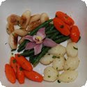 Bouquetire (Vegetables served in a bunch)
