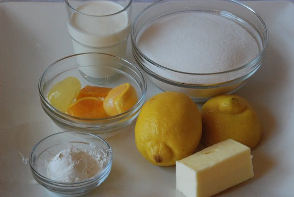 Tartest Lemon Tart ingredients