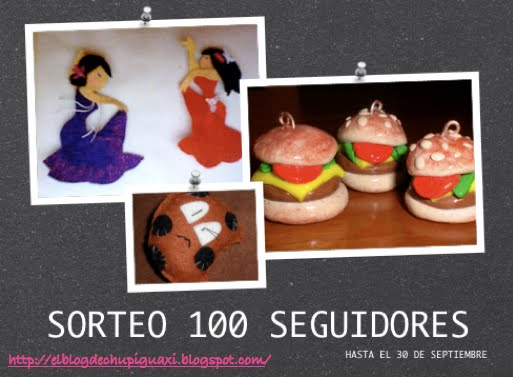 SORTEO 100 SEGUIDORES!!!!