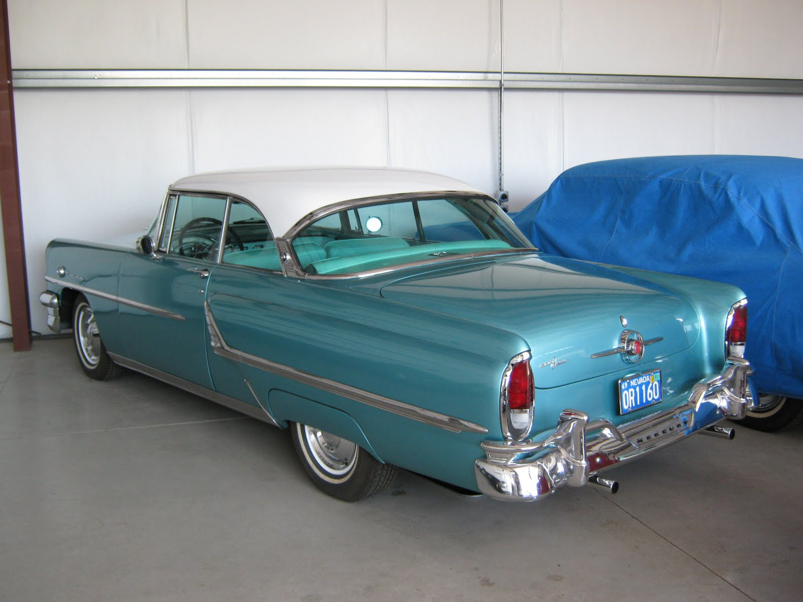 Albert 39 s classic cars email maryannarep 1955 for 1955 mercury monterey 4 door