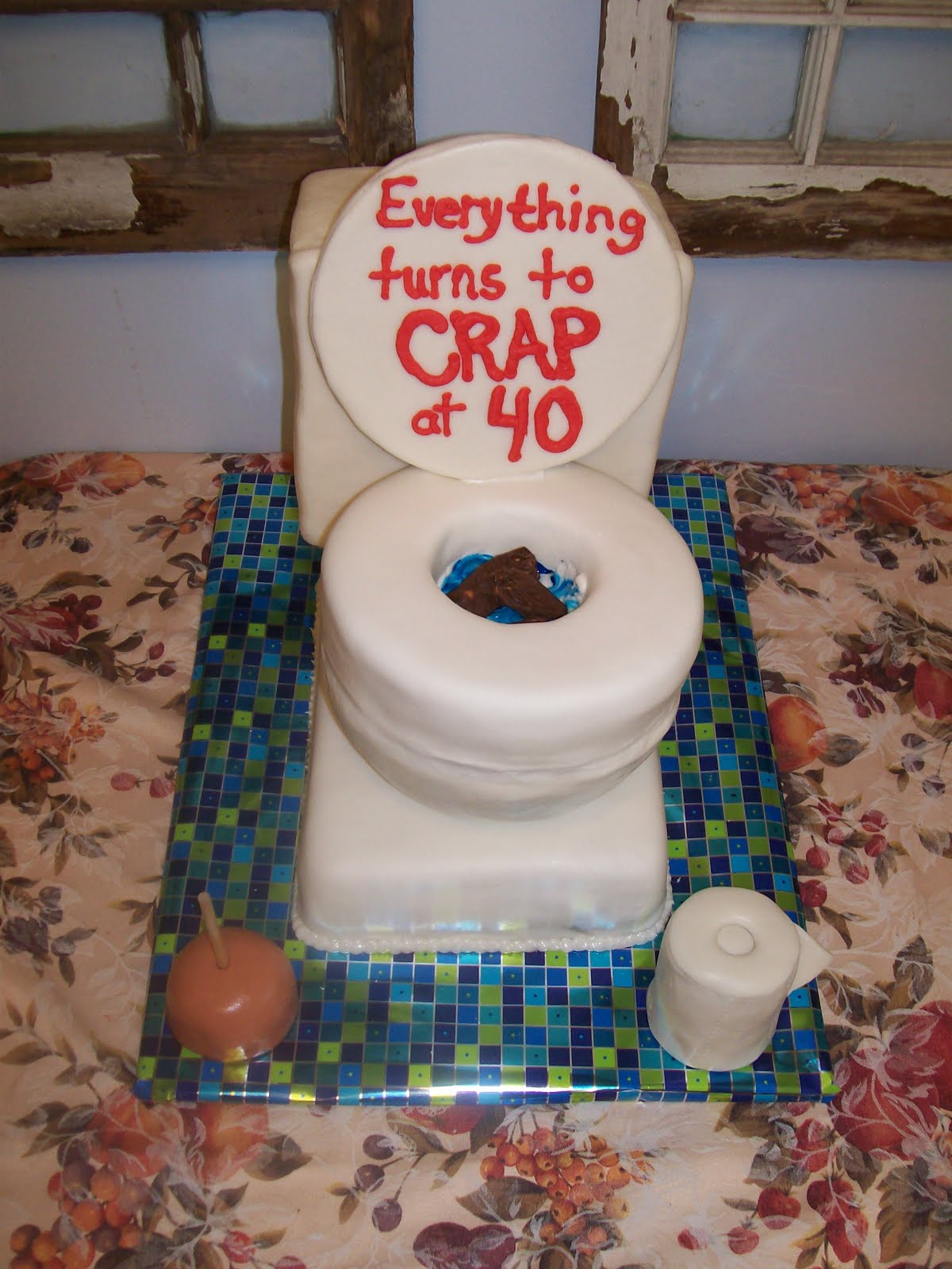 Funny Toilet Cake Images : Let Them Eat Cake!: Toilet Cake