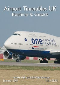 Airport Timetables Heathrow & Gatwick