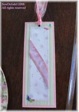 Crafts Beautiful Bookmark swap Sewdelish