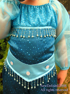 Genie Costume Close up