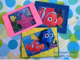 Make Nemo and Dory Birthday Cards