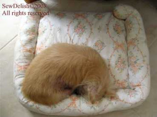 Pet Bed Pillow Cover Cushion with sides