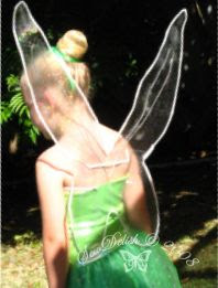 Tinkerbell fairy costume wings tinker bell Tink disney