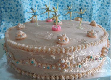 ballerina girl birthday cake make