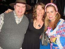 Zuzão, Solange e Carmen