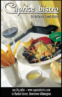 Picture of poster for Caprice Bistro Restaurant in Wilmington, NC