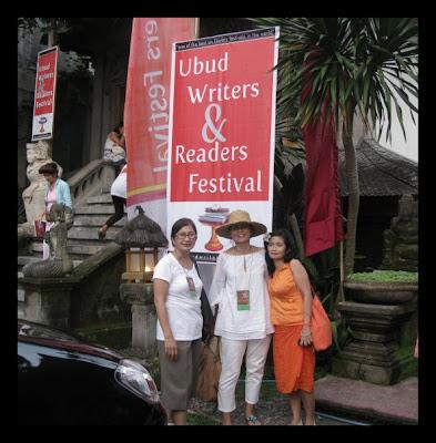 suka duka di ubud writers readers festival 2009 dedi sjahrir