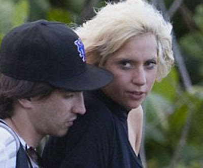 lady gaga no makeup on. lady
