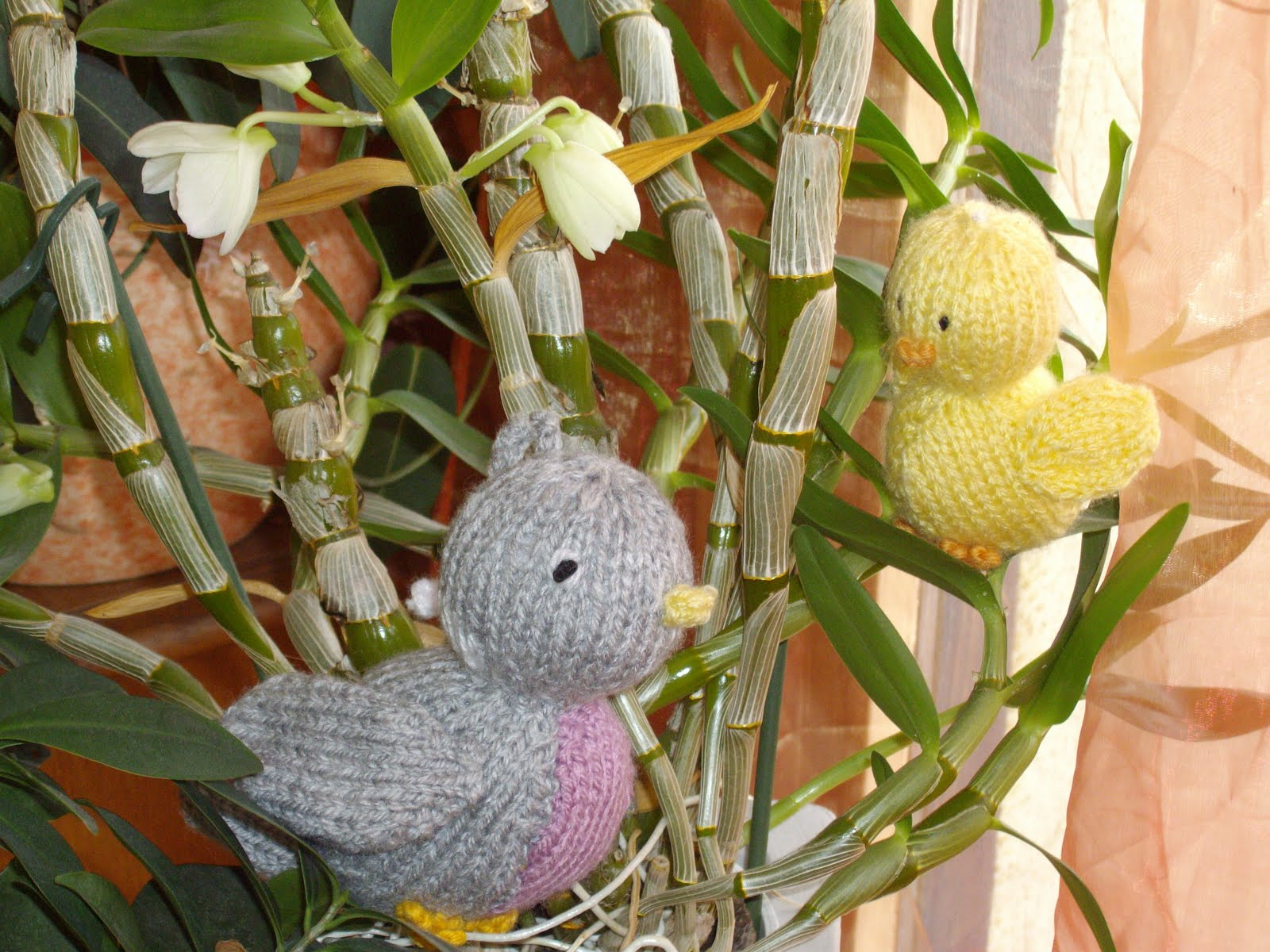 Gut bekannt du tricot et des jouets: des oiseaux GZ61