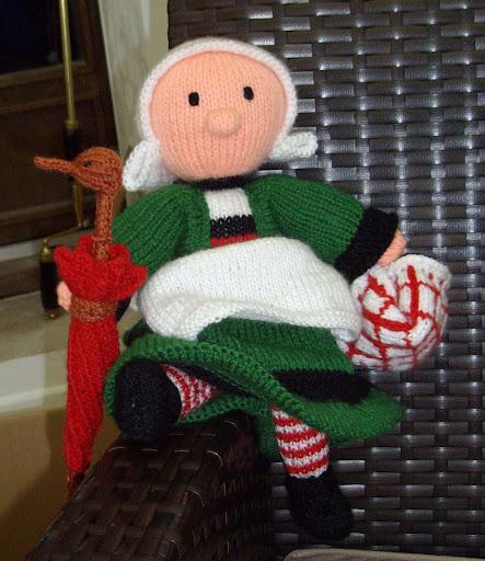 Comment tricoter une poupée