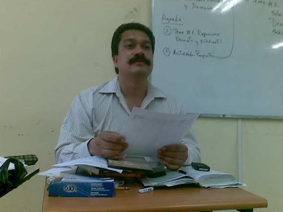 Profesor Jorge Pérez Valera