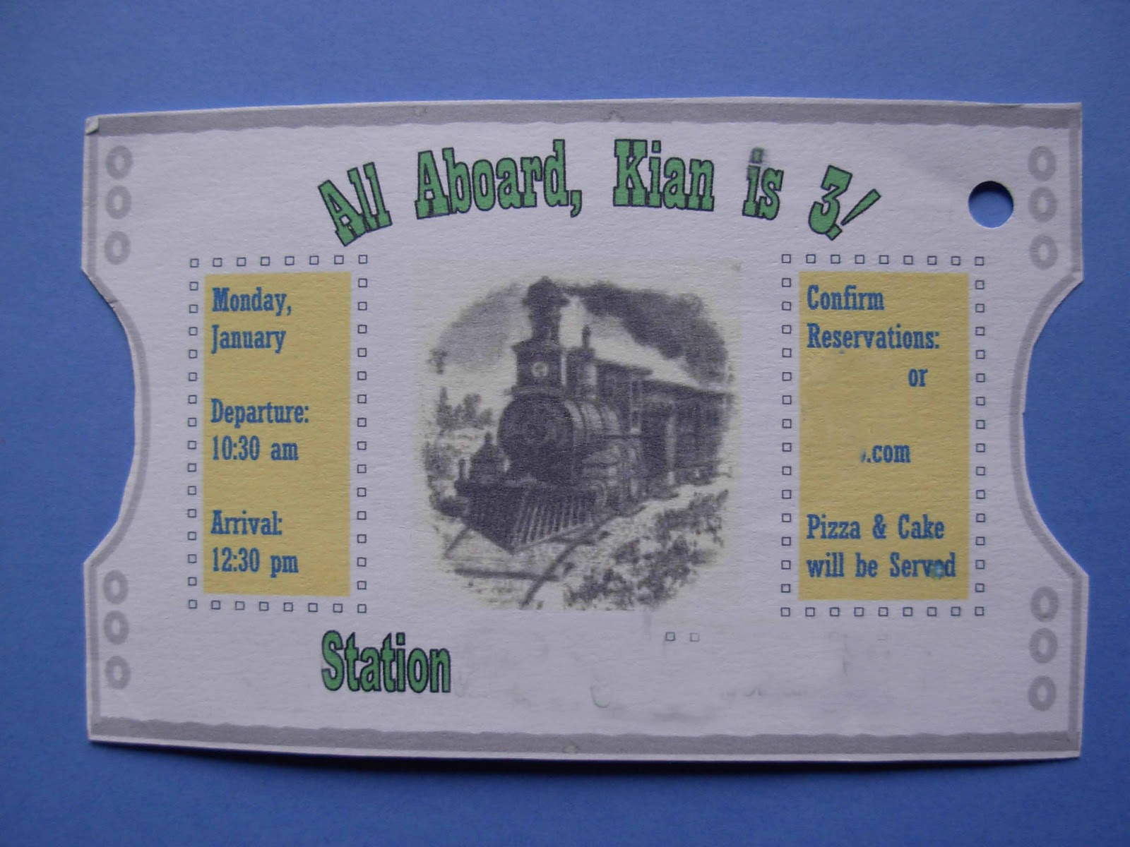 Train Ticket Template Printable Forteforic
