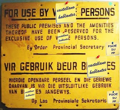 aprovechamiento y reutilización de carteles desechados en Sudáfrica
