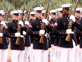 The Marine Corps Silent Drill Team by Sister72 via Flickr