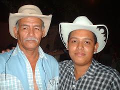 Jesus .A Cermeño y Juan Chichito Pinto