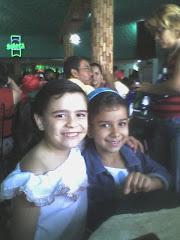 Las primas Andrea y Jessica Cermeño