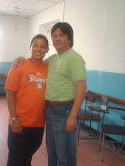 """Jesús Cermeño y Ramon """"Chino"""" Colmenarez"""