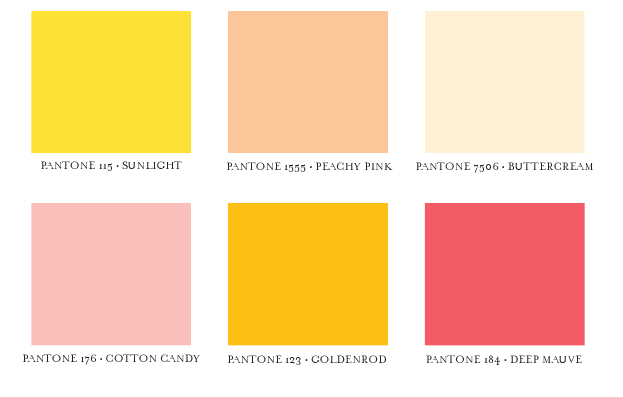 Shades Of Yellow Names Entrancing With Different Shades of Pink Color Names Pantone Picture