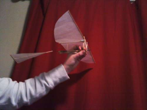 Rubber Band Ornithopter