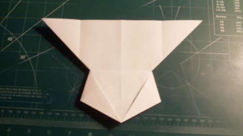 how to make a paper airplane turn 90 degrees