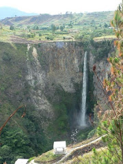 SIPISO-PISO WATERFALL IN TONGGING-NORTH SUMATERA-INDONESIA