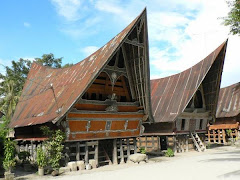 TYPICAL BATAK HOUSE-NORTH SUMATERA-INDONESIA