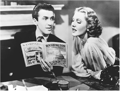 James Stewart ve Jean Arthur