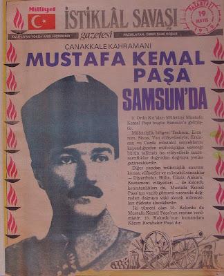 Günümüz Türkçe yazımı ile devrin konuyla ilgili gazete haberi...