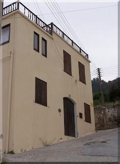 Lawrence Durrell'in Bellapias'te yaşadığı ev
