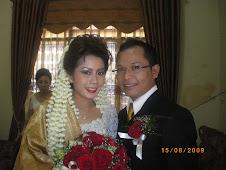Pernikahan Taman Z.Harahap,SE dengan Sylvia Reni Silitonga,SH