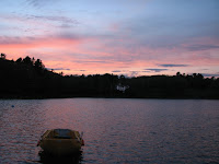 Sunset at the Basin