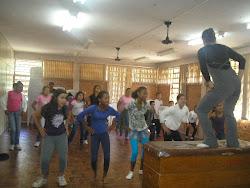 1ª aula de dança