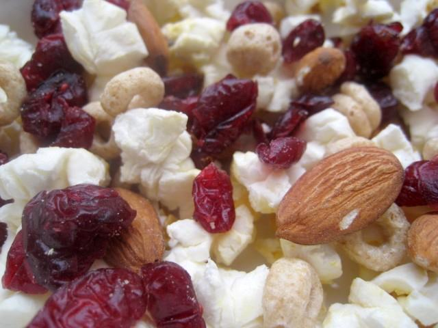 Popcorn Trail Mix – Snack in a Bag — Savor The Thyme - Food ...