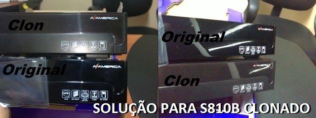 Galera saiu uma solução para os s810b clonado, quem quizer fazer ...