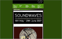 Soundwaves - Kinetica Museum, Spitalfields, London