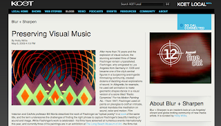 Preserving Visual Music - By Holly Willis for Blur + Sharpen