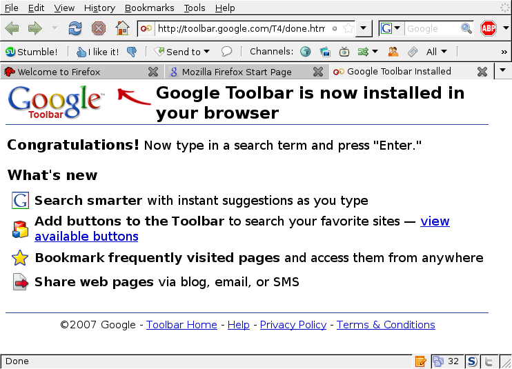 The Daily Google Toolbar WTF