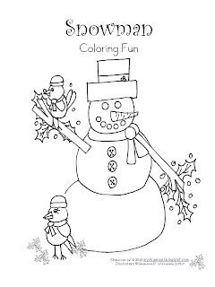 learn and grow designs website snowman fun